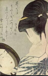 Utamaro woman ukiyo-e
