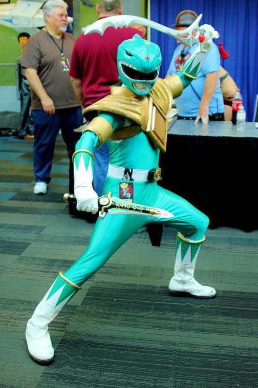 By RyC - Behind The Lens from San Francisco, United States of America - green mighty morphin power ranger, CC BY 2.0, Link