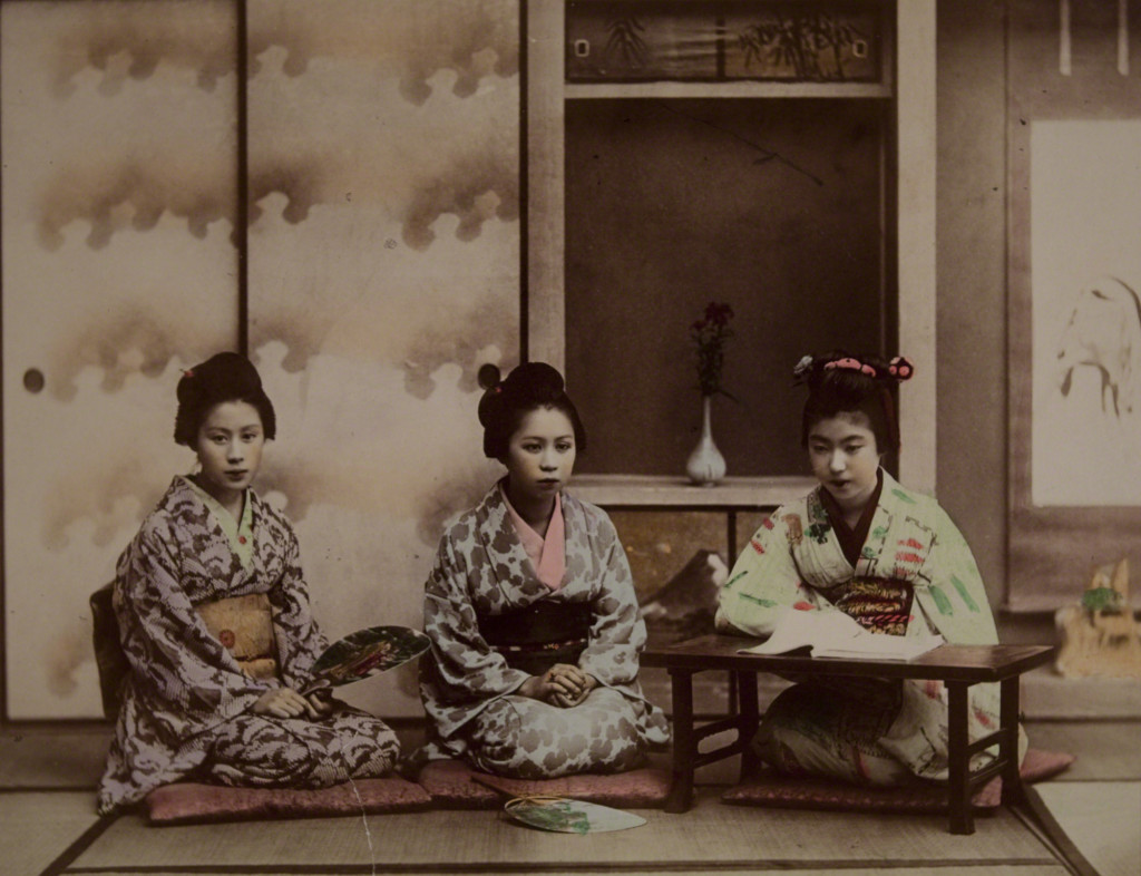 Teaching Songs by Kusakabe Kimbei c. 1890