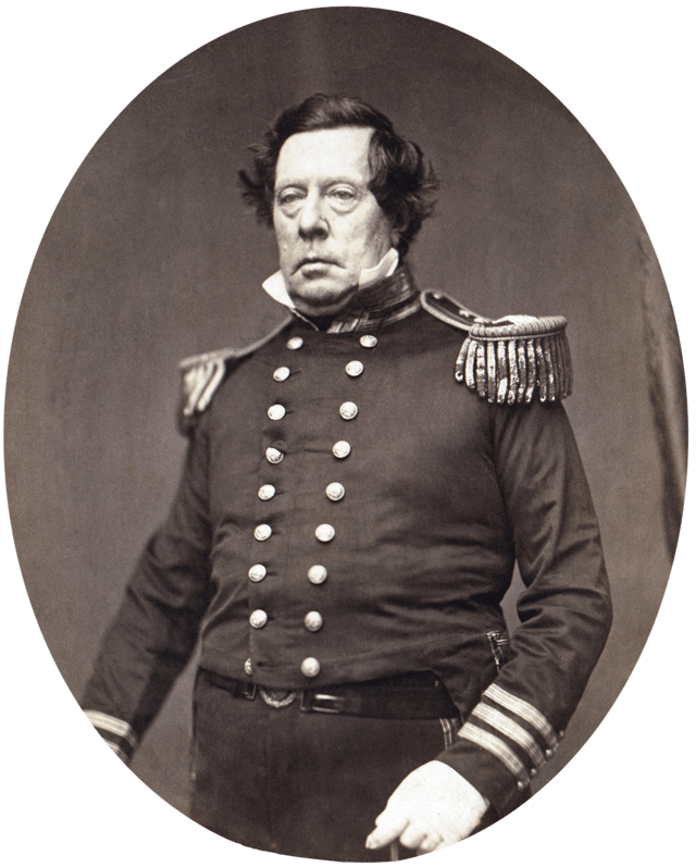 Commodore Matthew C. Perry.