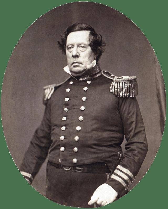Commodore Matthew C. Perry.