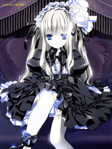 Cute-gothic-lolita-anime-girl-anime