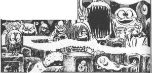 youkai yokai Japanese Monsters Mizuki shigeru