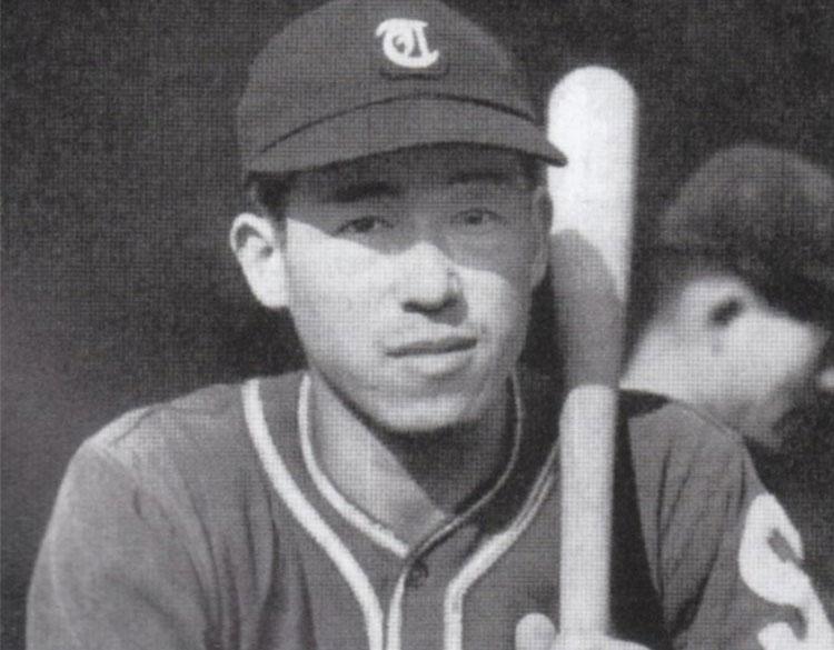 Hiroshi Oshita, rookie season with the Tokyo Senators in 1946 Source: Baseball Magazine