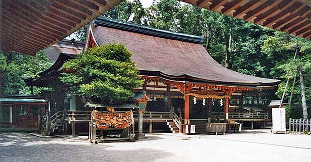 Ise Grand Shrine, an important Shinto shrine. The traditional Shintoism and Buddhism no longer fulfills the spiritual needs of many Japanese, who turn increasingly to so-called New Religions, many of which are cults.