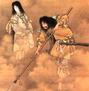 Izonagi no Mikoto in Shinto's creation myth