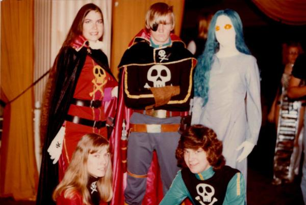 Karen Schaubelt's historic first cosplay group.