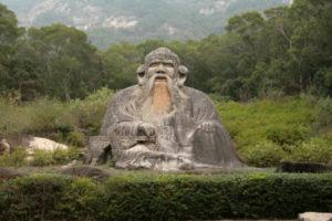 Lao^tsu Lao-tzû statue China