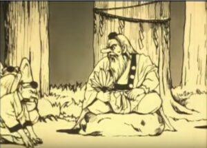 Silent movie animation Lump Theft