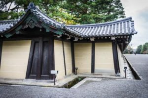 Kyoto imperial palace kimon northeast corner