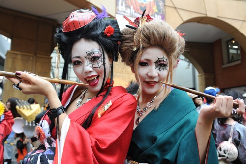 Halloween in Japan Rie Ishii/Agence France-Presse/Getty Images