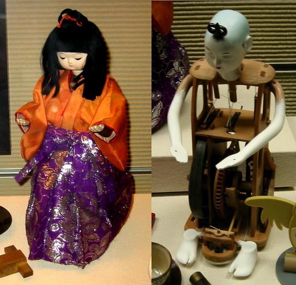 Tea serving Automaton, known as a Zashiki Karakuri