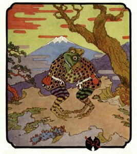 Japanese Frog Fairytale