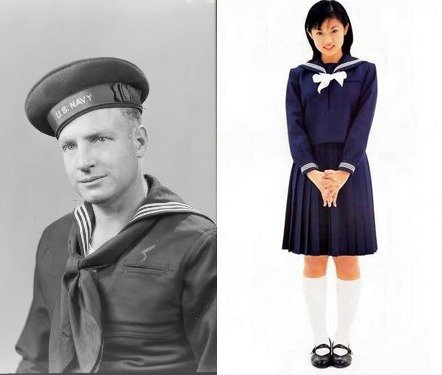 Japanese Navy School Uniform