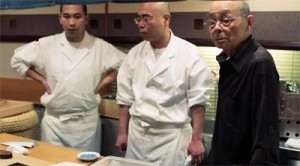 Jiro Ono and his sons
