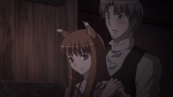 Holo and Lawrence