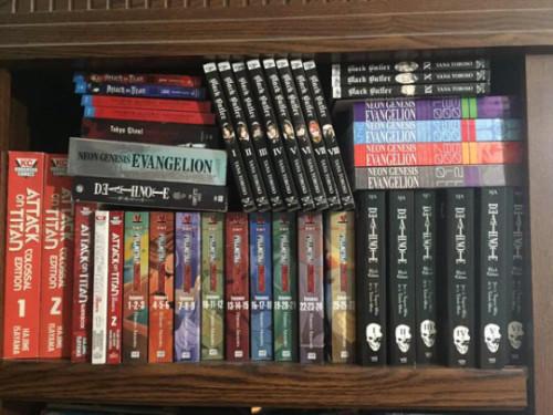 stuffed-manga-collection