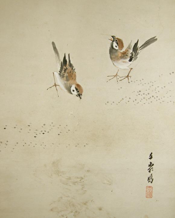 Kimura Ritsurei. Sparrows