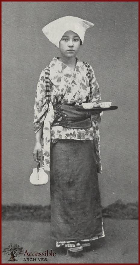 A Teahouse Girl 1898