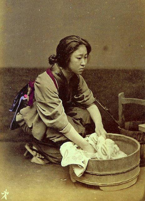 Wash Day c. 1870