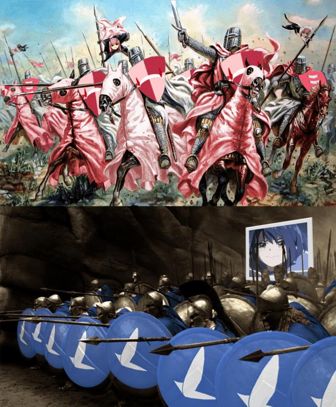 Waifu theme memes are funny.