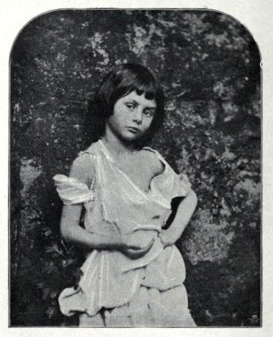 Photo of Alice Liddell taken by Lewis Carroll in 1860.