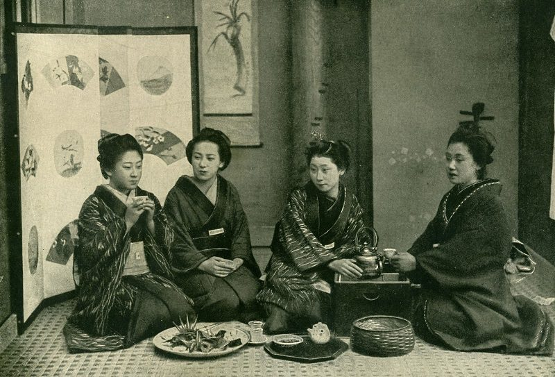 Japanese women a scant 117 years ago.