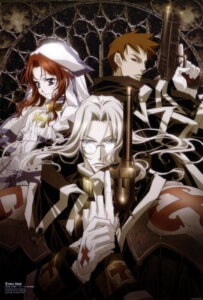 Esther Blancett, Abel Nightroad, Tres Iques. trinity blood poster
