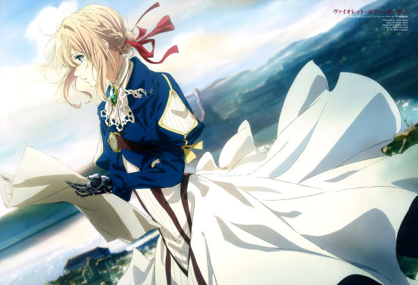 Violet Evergarden and the Lost Art of Letter Writing