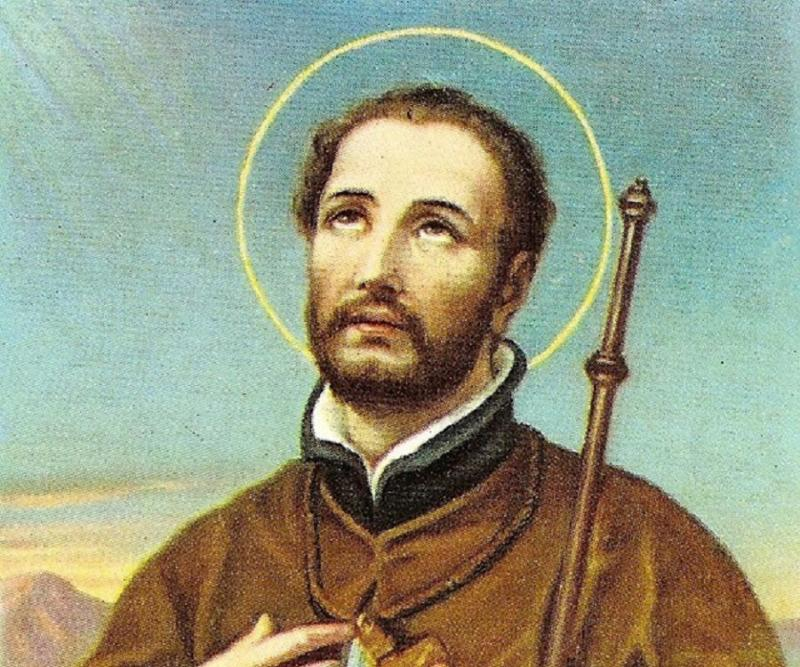 A painting of Francis Xavier