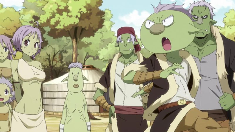 goblins in reincarnated as a slime