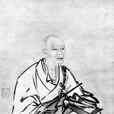 A portrait of Ikkyu Sojun