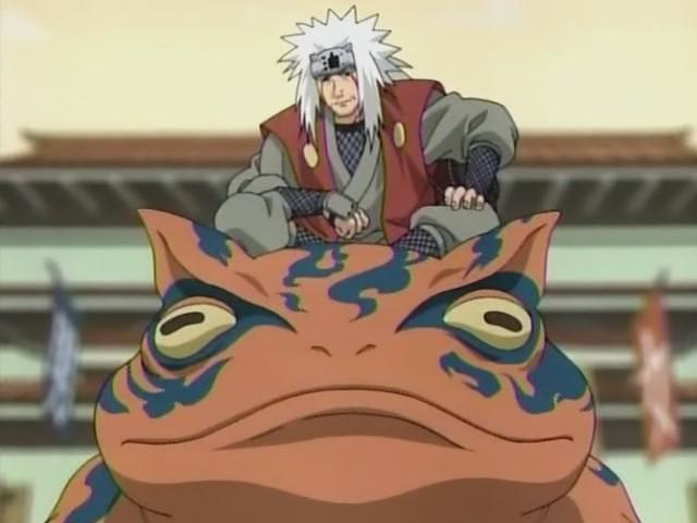 Jiraiya and the Magic Frog: The Story Behind Naruto's Characters