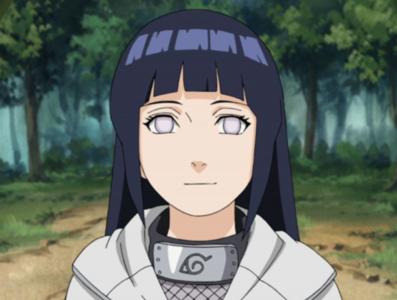 Hinata develops quiet confidence throughout the series