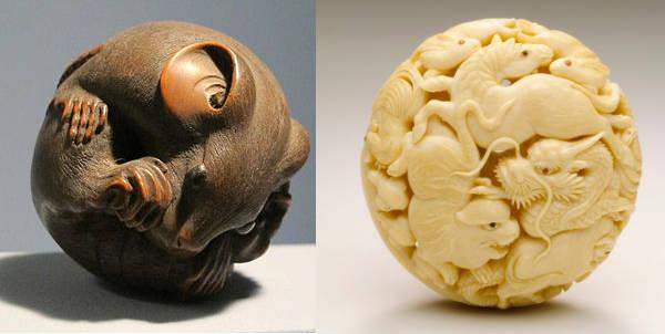 examples of netsuke