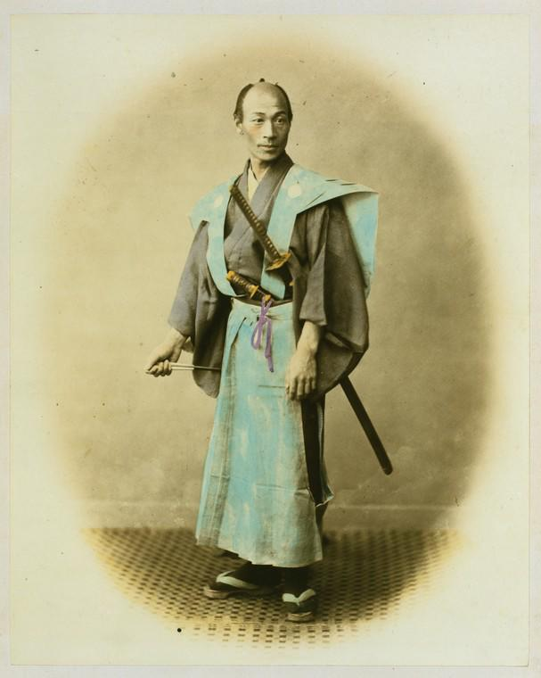 Japanese Yakonin in dress of ceremony