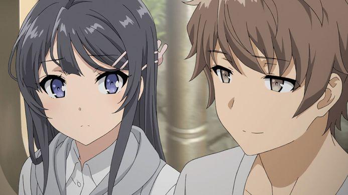 sakuta and mai - rascal bunny girl