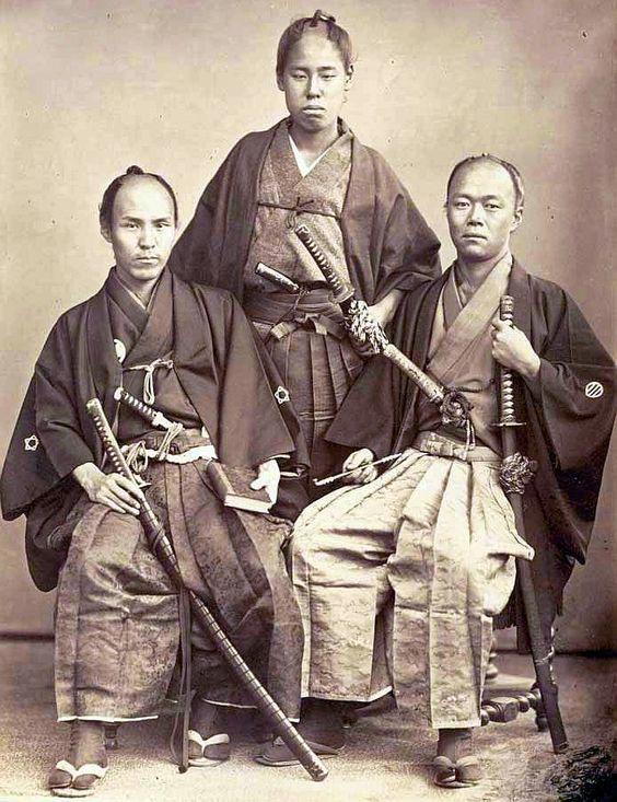 Example of Samurai dress
