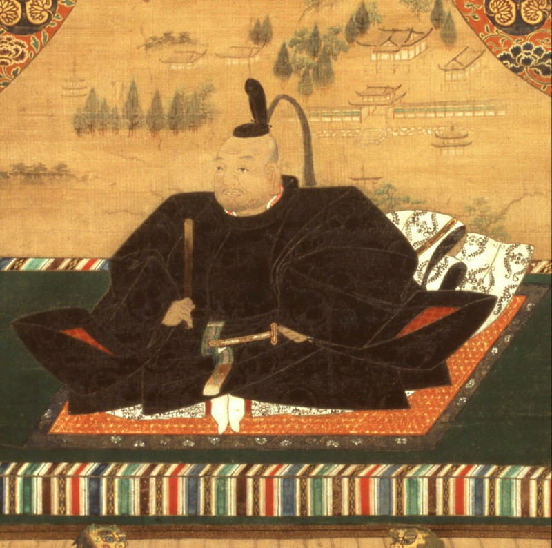 Tokugawa Ieyasu, the founder of the Edo period