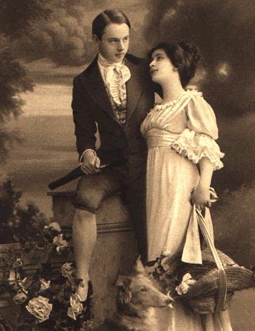 Victorian era couple
